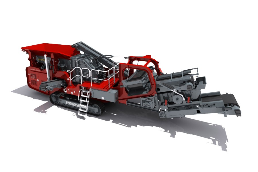 Striker - H3000R Track Mounted Impact Crushers