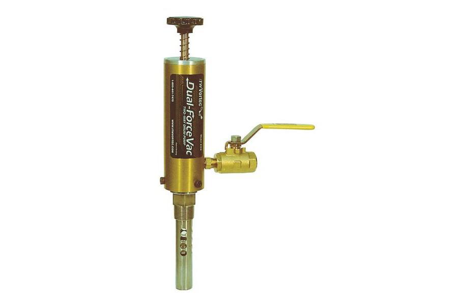 Vortec - Dual Force Vac Drum Pump Dewatering Pumps