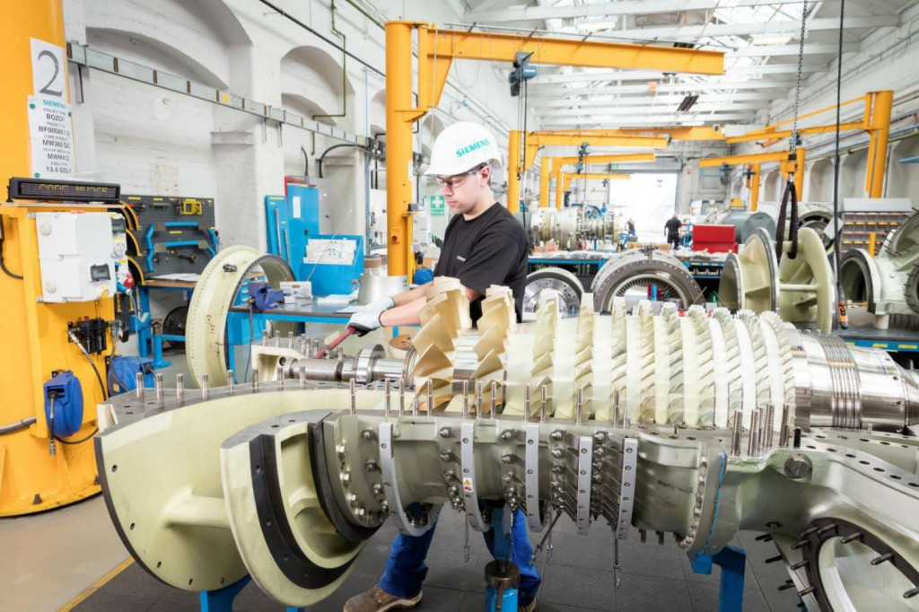 The SGT-400 model is considered the most efficient gas turbine in its performance class. This high efficiency lowers fuel consumption and thus operating costs.