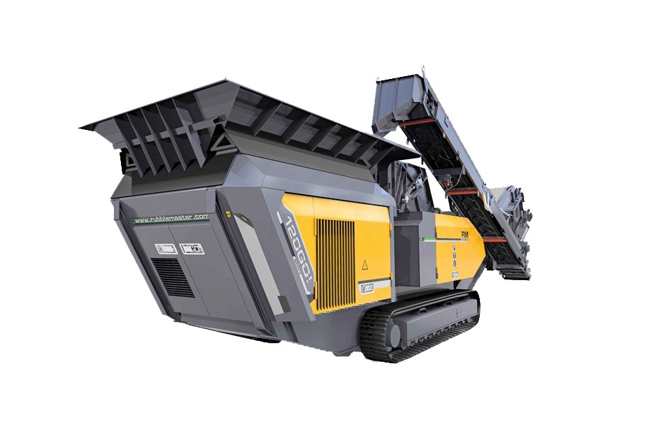 Rubble Master - RM 120GO! Track Mounted Impact Crushers
