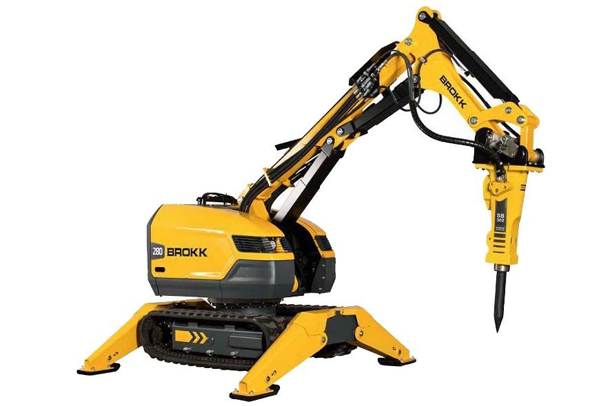 Brokk USA - Brokk 280 Demolition Robots