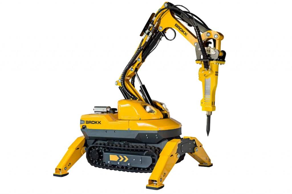 Brokk USA - Brokk 120 D Demolition Robots