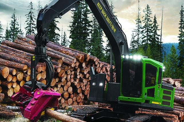 John Deere Construction & Forestry - 2154G Forestry Log Loaders