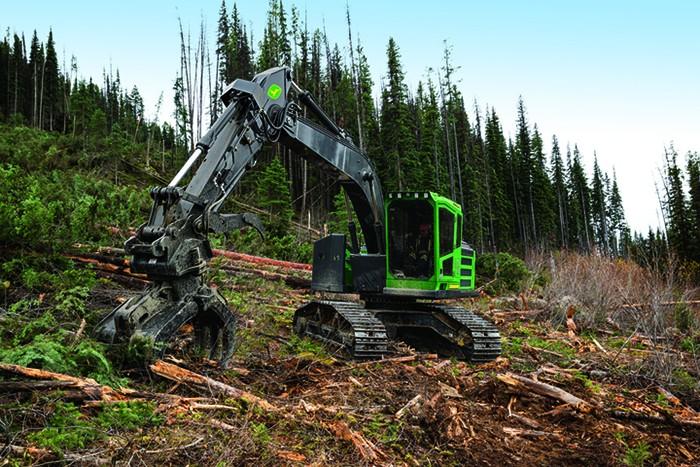 John Deere Construction & Forestry - 2656G Forestry Log Loaders