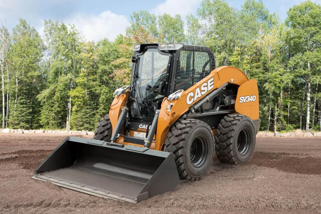 CASE Construction Equipment - SV340 Skid-Steer Loaders