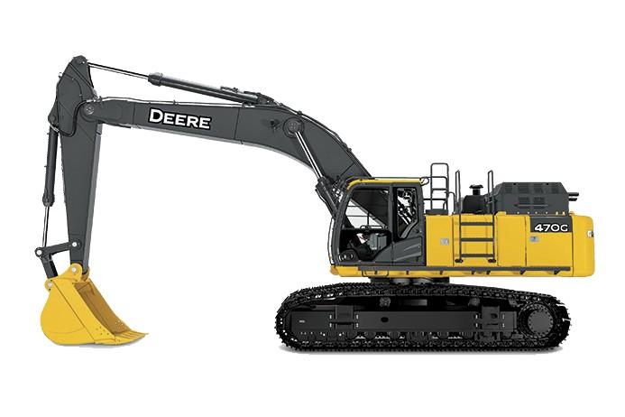 John Deere Construction & Forestry - 470G LC Excavators