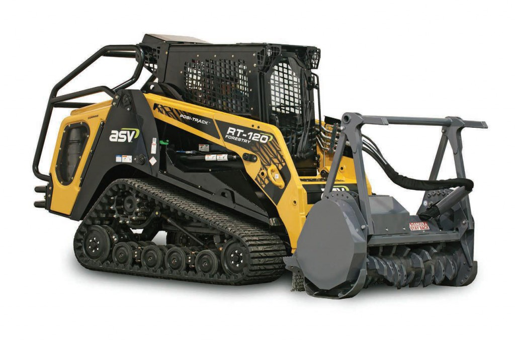 ASV Holdings Inc. - RT-120 Forestry Compact Track Loaders