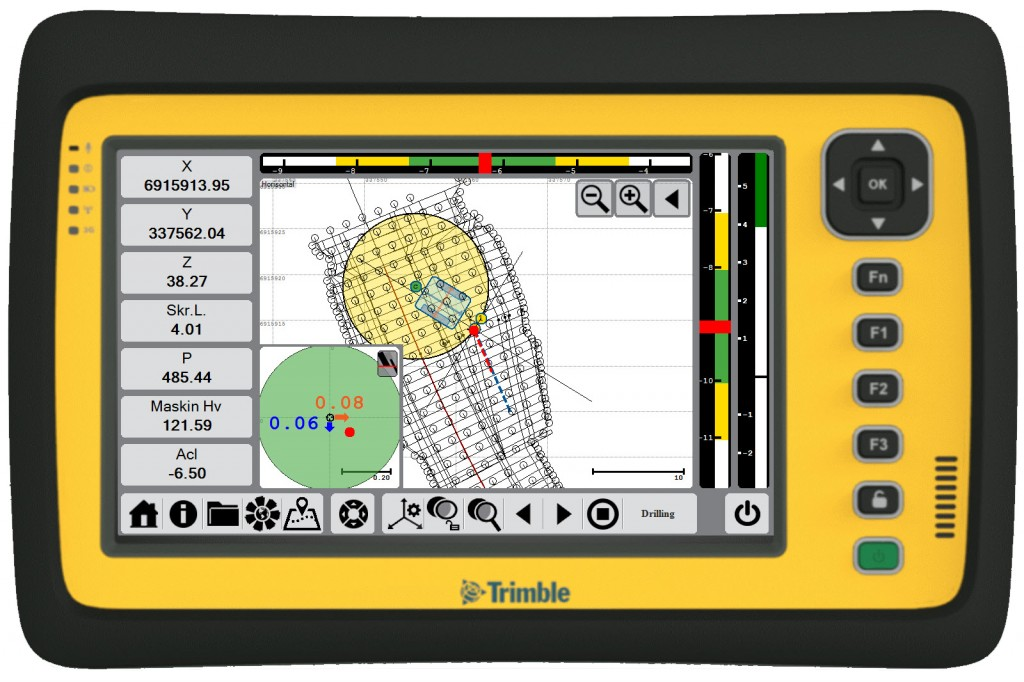 Trimble - DPS900 Machine Control