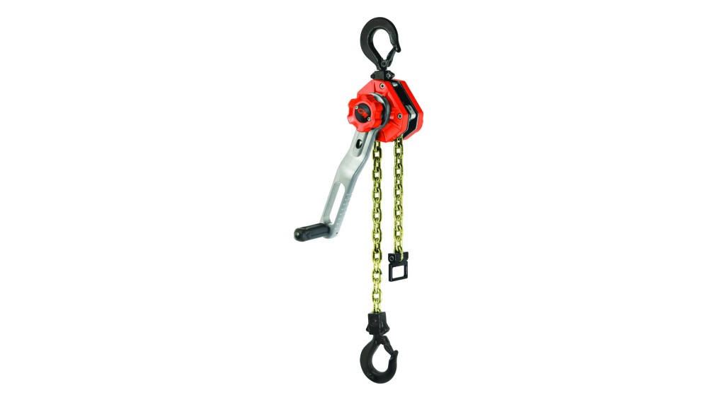 Columbus McKinnon Releases  Lever-Operated Hoists with New CM Tornado 360°