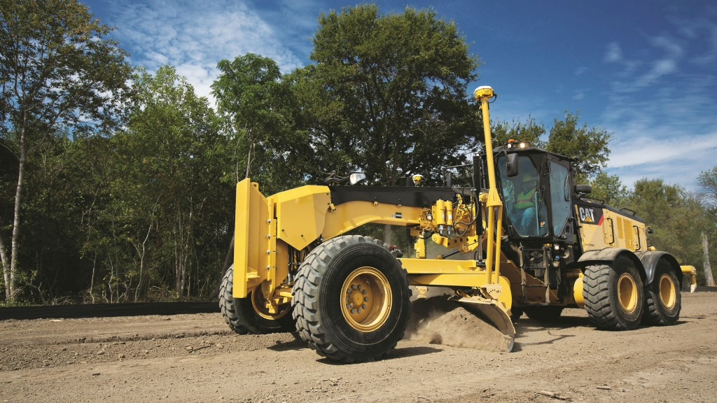 Integrated technology solutions make Cat 14M3 motor grader even more productive