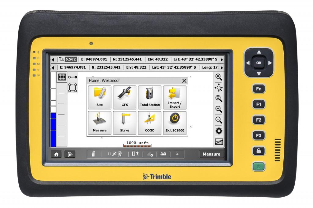 Trimble - SCS900 Construction Software