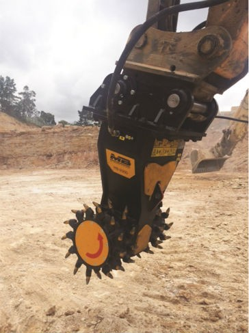MB Crusher drum cutters for 6- to 35-ton excavators