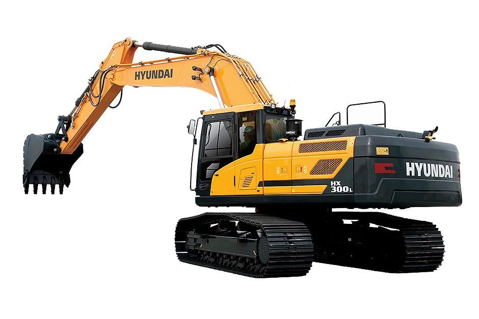 Hyundai Construction Equipment Americas Inc. - HX300L Excavators