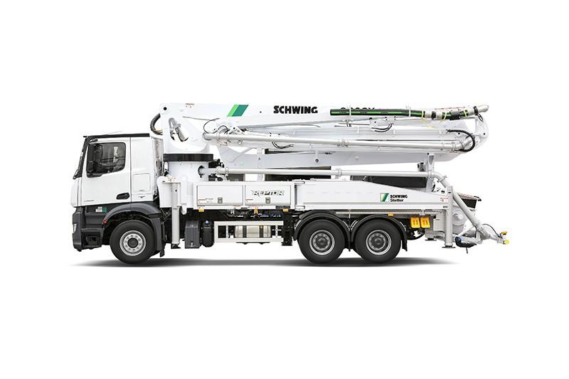 Schwing America, Inc. - S 38 SX Concrete Pump Trucks