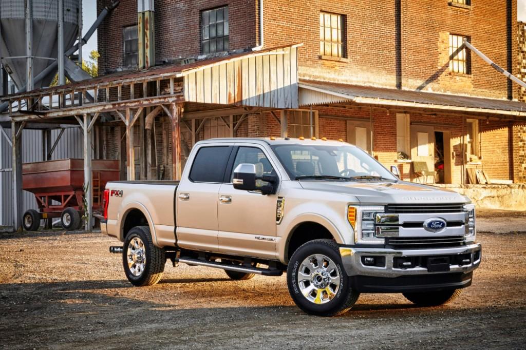 Ford Motor Company - 2017 Super Duty F-350 XL Pickup Trucks