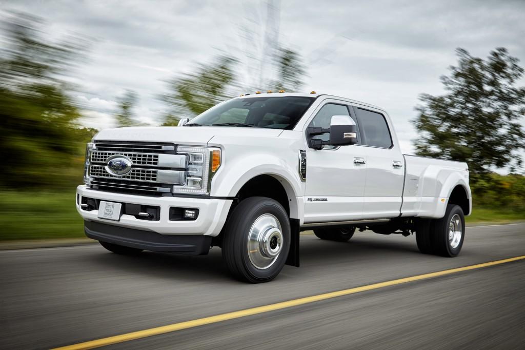 Ford Motor Company - 2017 Super Duty F-450 XL Pickup Trucks