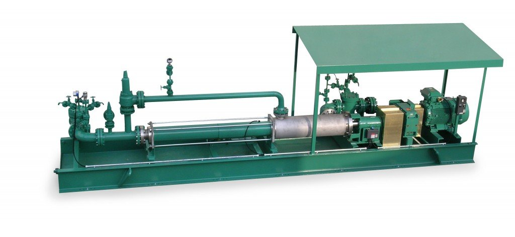 Multiphase progressing cavity pumps for mid- and downstream applications