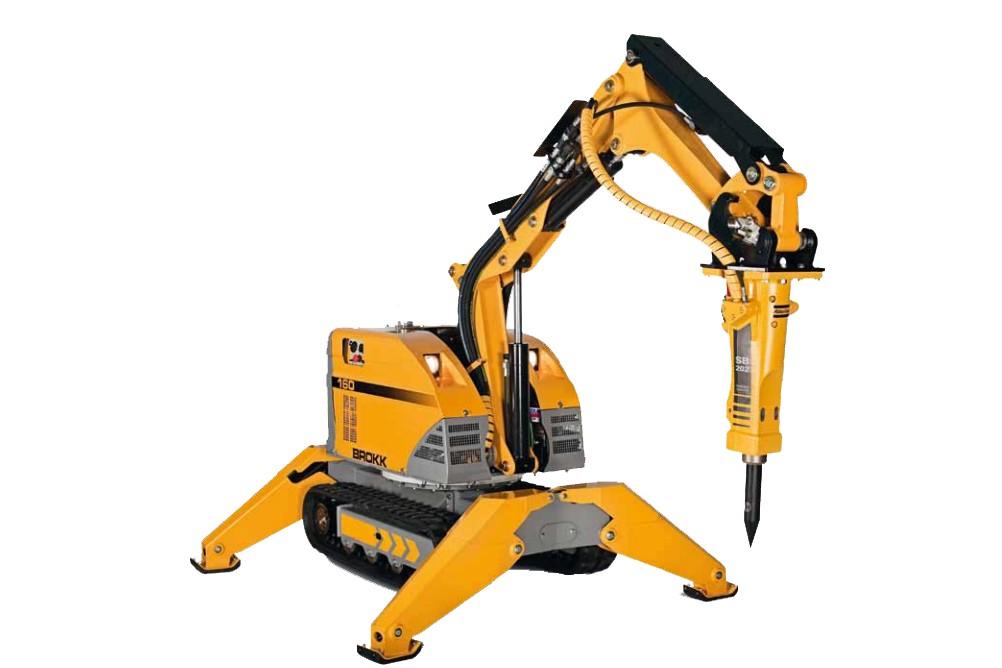 Brokk USA - Brokk 160 Demolition Robots