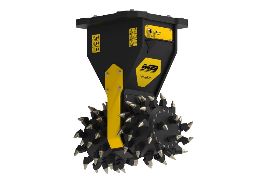 MB S.p.A. - MB-R900 Drum Cutters