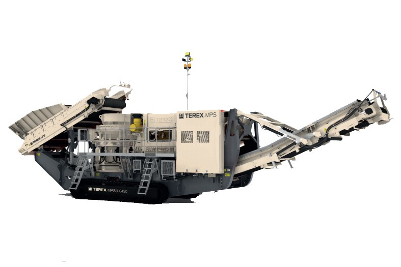Terex Minerals Processing Systems - LC450 Track Mounted Cone Crushers