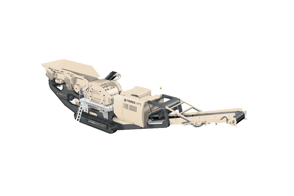 Terex Minerals Processing Systems - LJ5532 Track Mounted Jaw Crushers