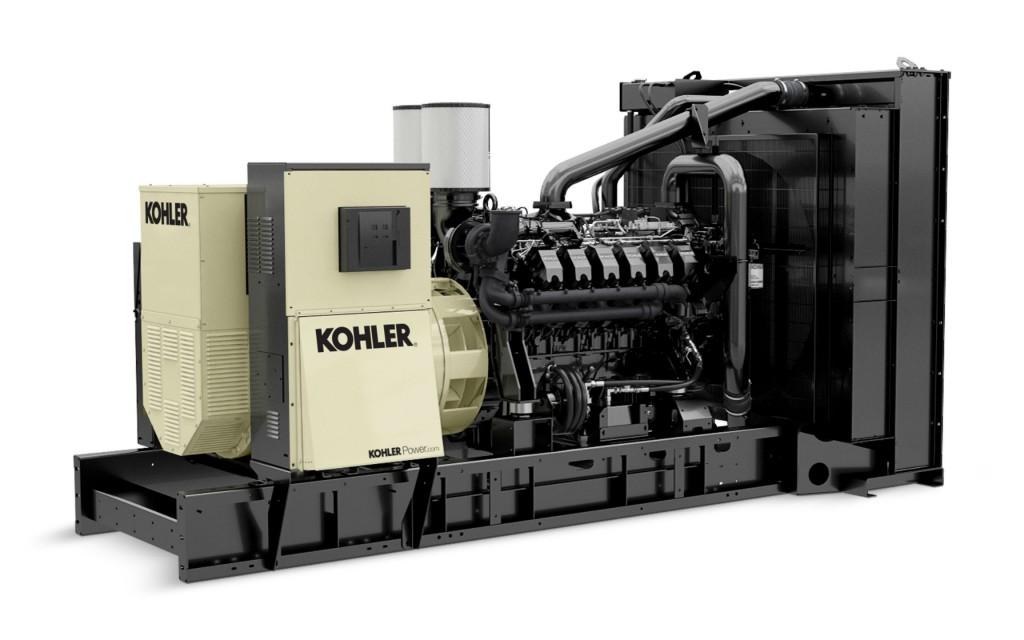 Kohler Unveils New Large Diesel Industrial Generator Line