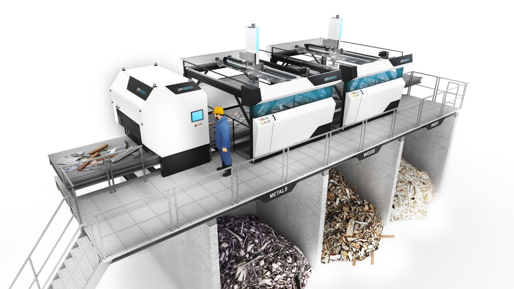 Robotic waste sorting has huge potential in China where the volume of construction waste has risen rapidly in line with the accelerating urbanization.