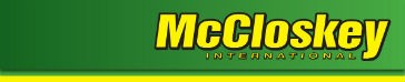 McCloskey launches new division and products at CONEXPO