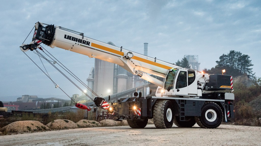 Liebherr premieres rough-terrain cranes, wheel loaders and more for CONEXPO