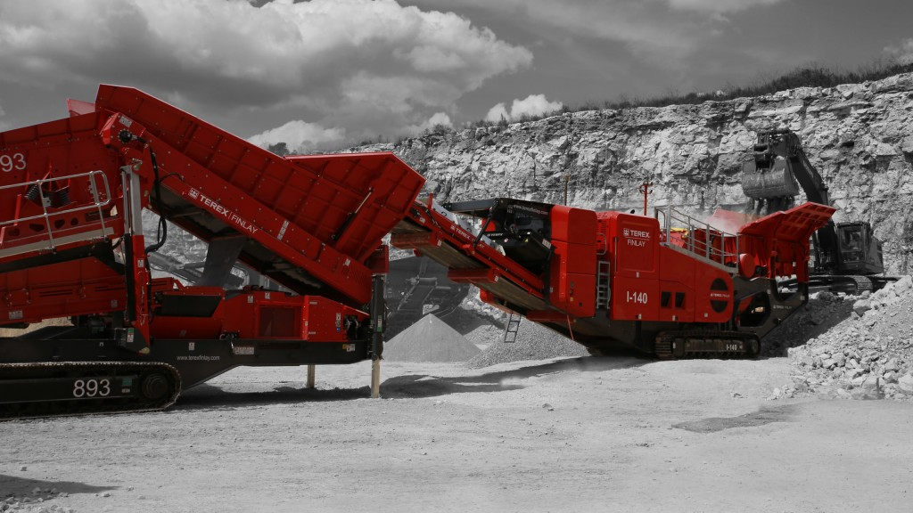 Terex Finlay to showcase I-140 impact crusher at CONEXPO-CONAGG 2017