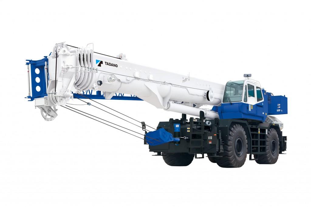 The GR1200XL rough terrain crane from Tadano