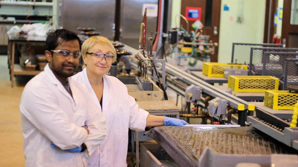 UBC mineral processing engineer, professor Maria Holuszko and PhD student Amit Kumar have found a way to make LEDs even more environmentally friendly.