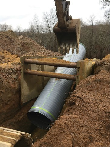 New large diameter high-performance pipe introduced by Advanced Drainage Systems