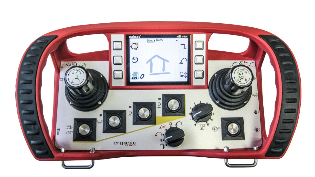 Putzmeister Introduces Brand New Ergonic® 2.0 Control System