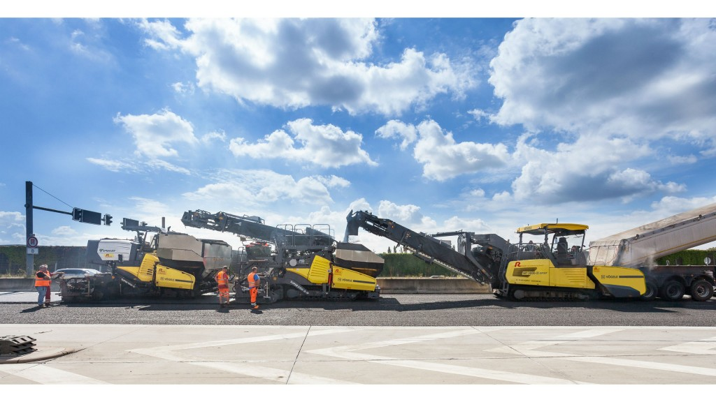 InLine Pave train combines two innovations into one for road rehabilitation