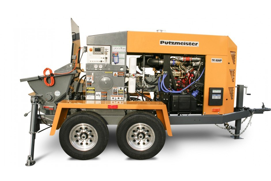 Putzmeister America Inc. - TK 60 HP Concrete Pumps
