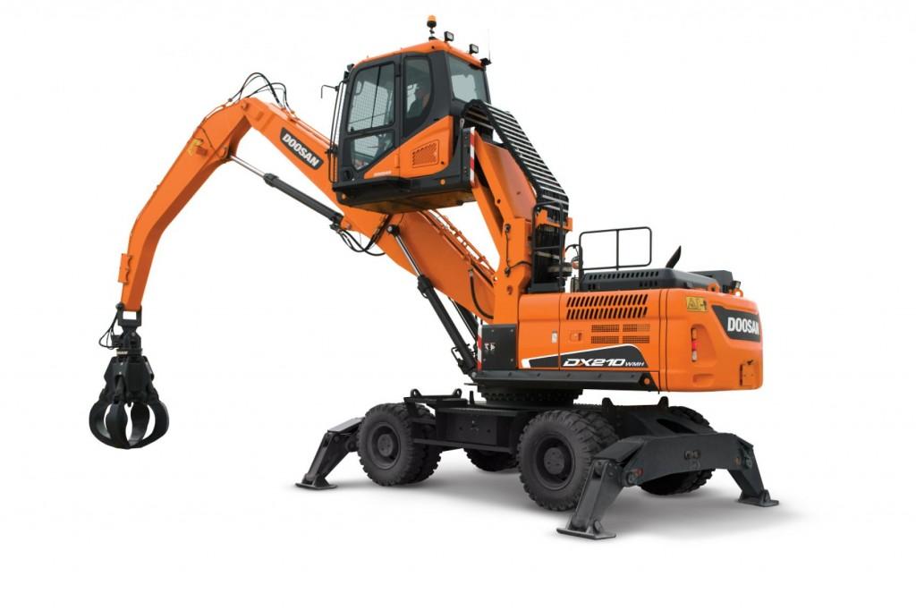 Doosan Infracore North America LLC - DX210WMH-5 Material Handlers