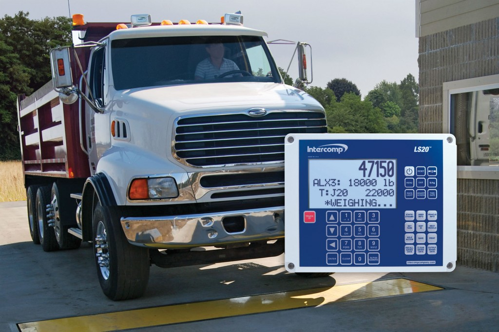 LS20 Indicator for Weigh-In-Motion Axle Scales Automates Weighing