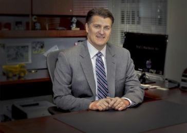 Rod Schrader CEO Komatsu America