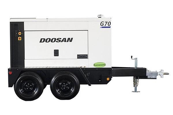 Doosan Portable Power - G70WDO-3A-T4F Generators
