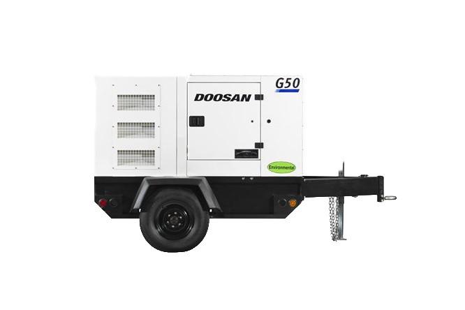 Doosan Portable Power - G50WDO-3A-T4F Generators