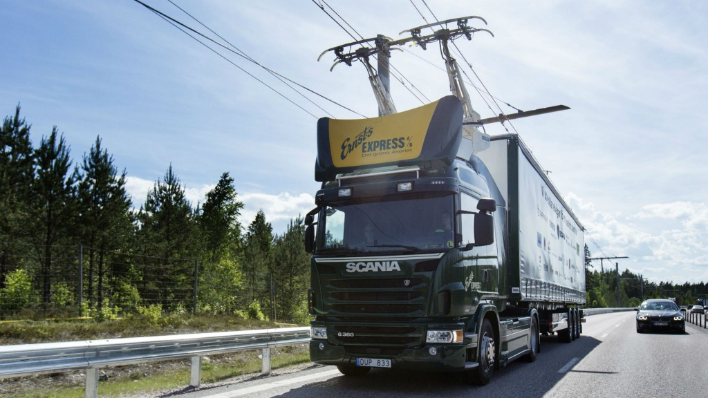 Scania welcomes Sweden-Germany partnership on mobility and electrical roads