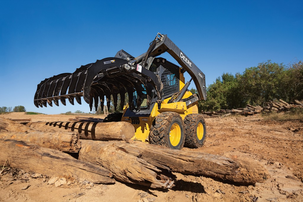 John Deere Construction & Forestry - RR72 Grapples
