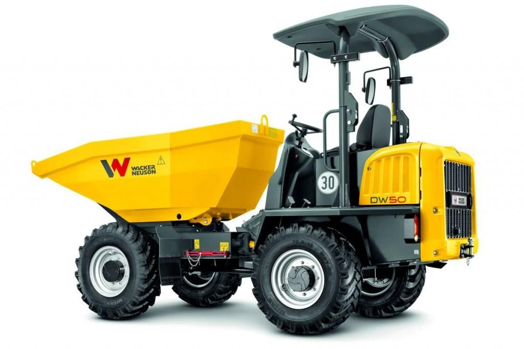 Wacker Neuson USA - DW50 Dumpers
