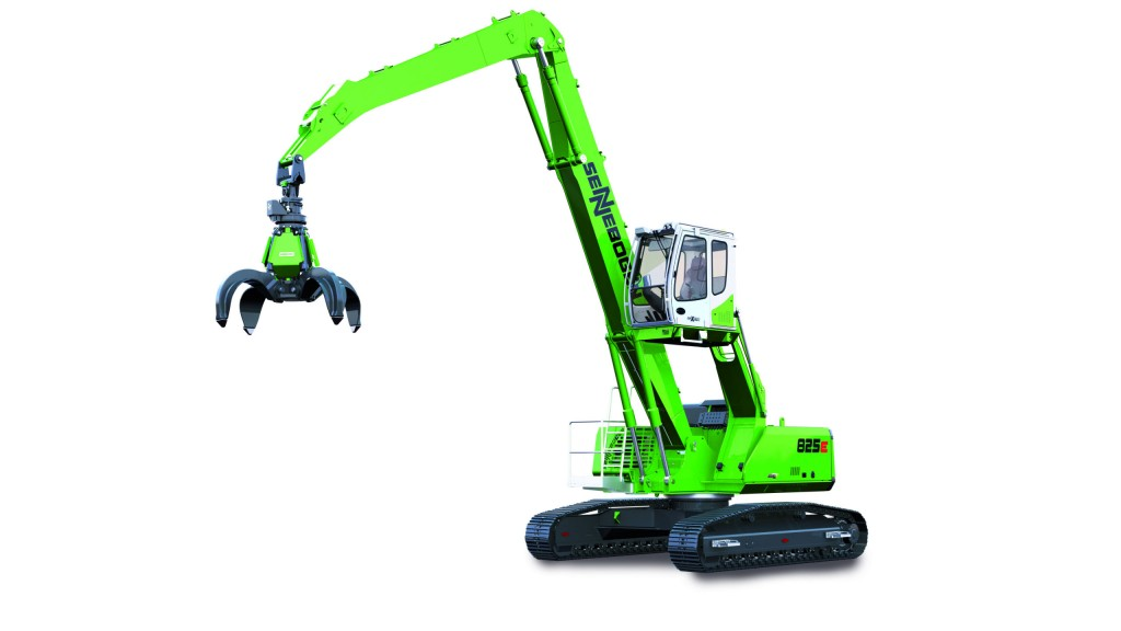 SENNEBOGEN Launches new generation 825 E material handlers to European market