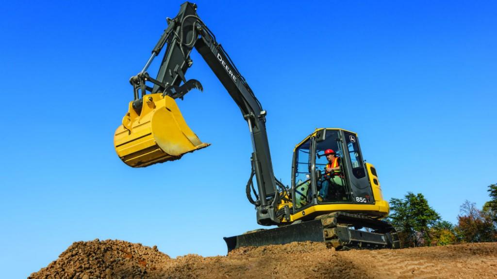 Updates For John Deere 75G and 85G Excavators