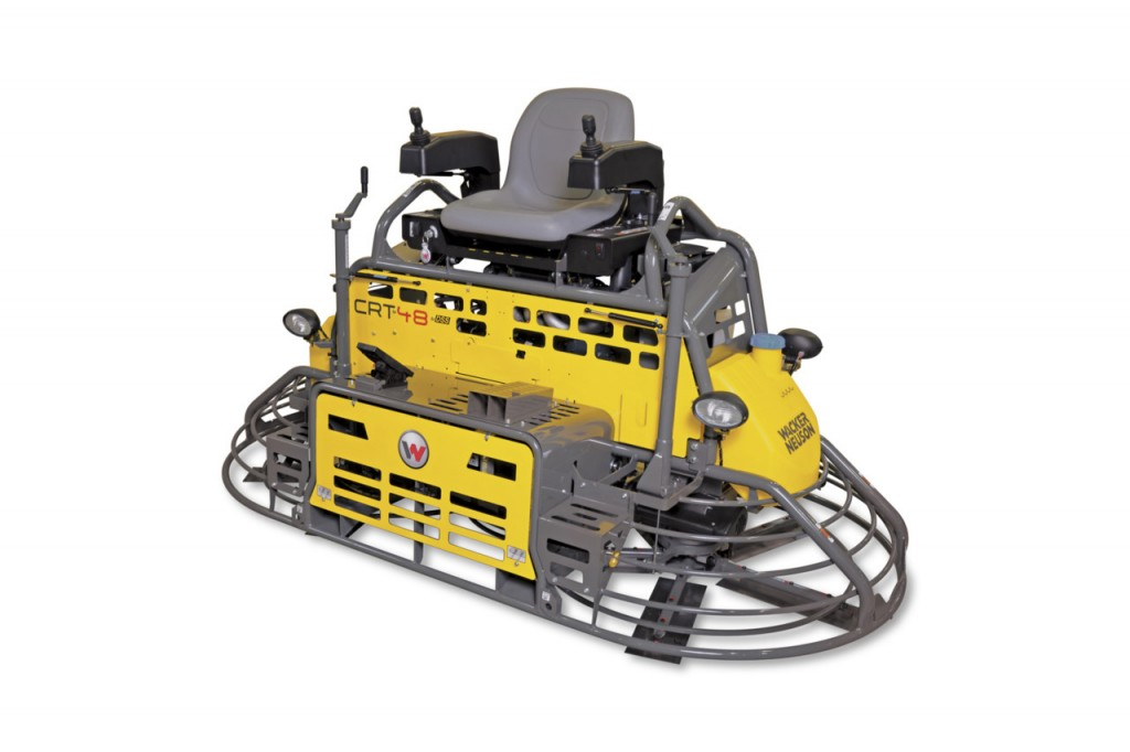 Wacker Neuson USA - CRT48-PS Ride On Trowels