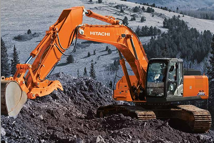 Hitachi Construction Machinery Corporation - ZX350LC-6 Excavators