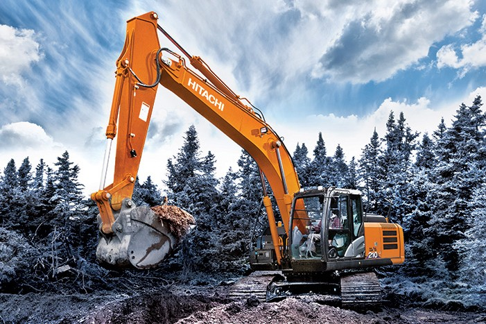 Hitachi Construction Machinery Co. - ZX210LC-6 & ZX210-6 Excavators