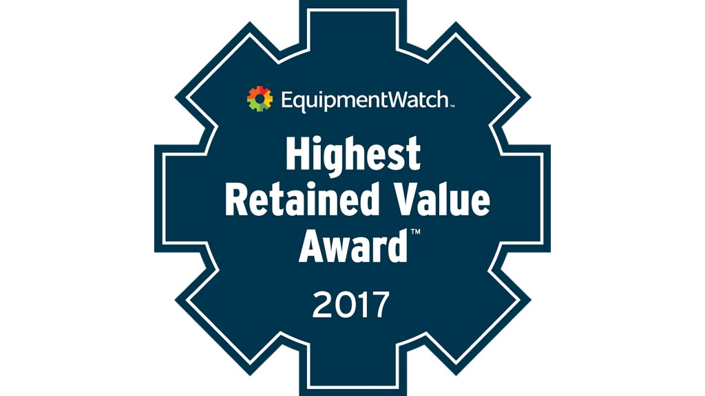 EquipmentWatch Names 2017 Highest Retained Value Award Winners